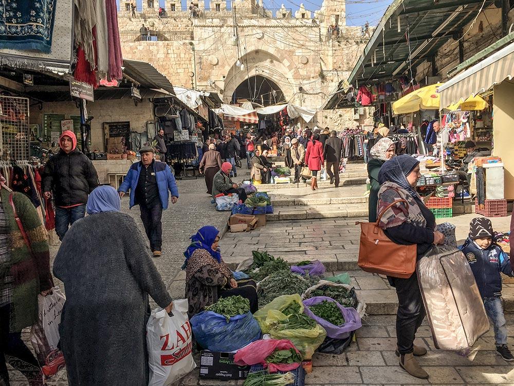 Bazar vor dem Damaskus-Tor