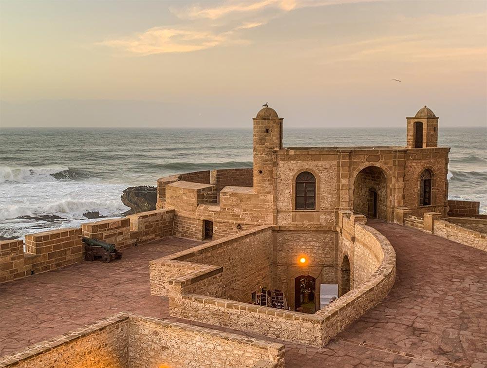 Festung der ehemaligen portugiesischen Kolonie Mogador