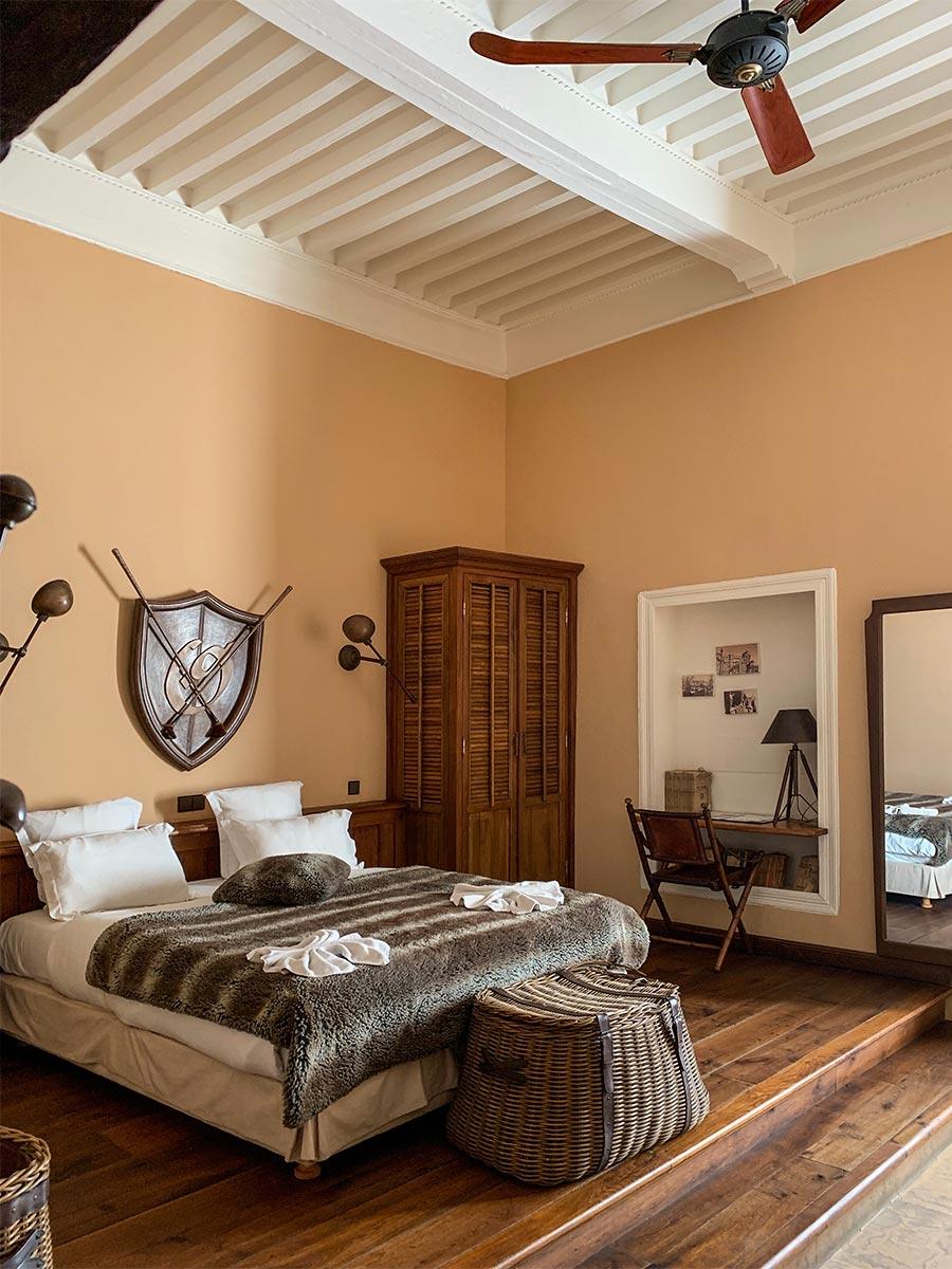 Kolonialstil-Schlafzimmer-afrikanisch - Ambiente Mediterran