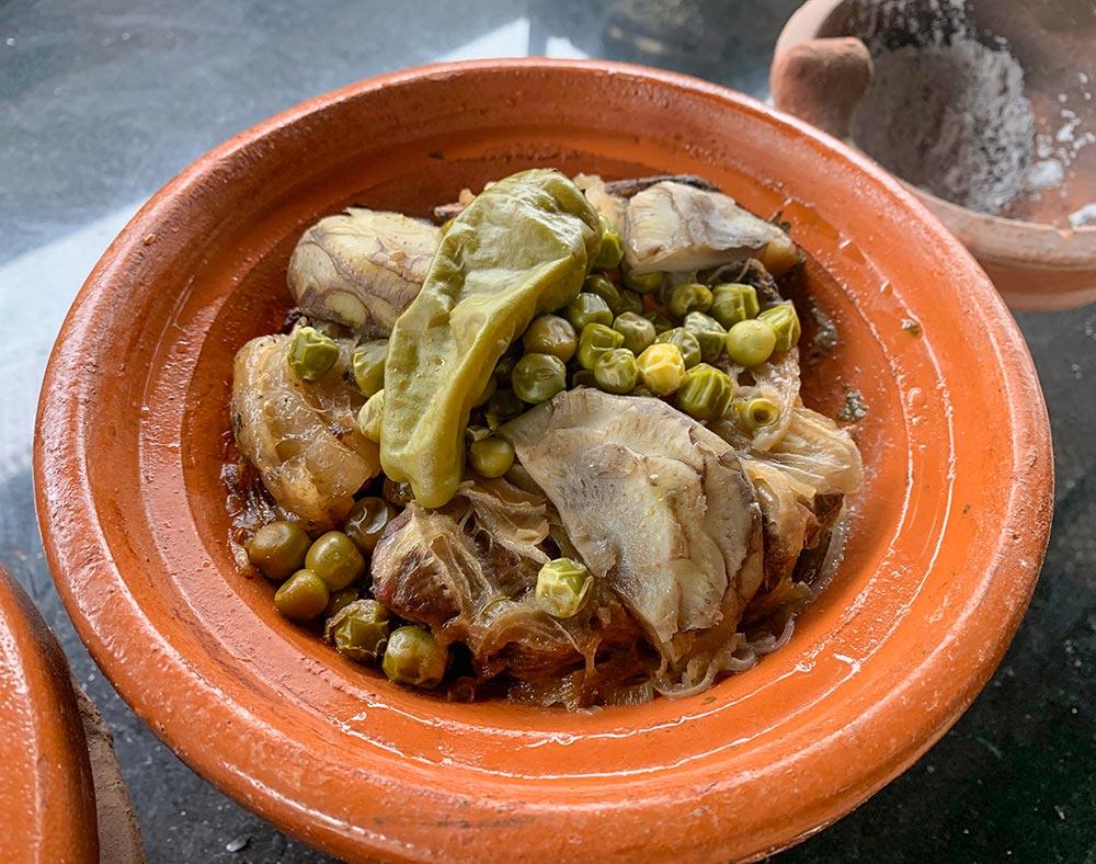 Tajine mit Lammfleisch und Gemüse © Siegbert Mattheis