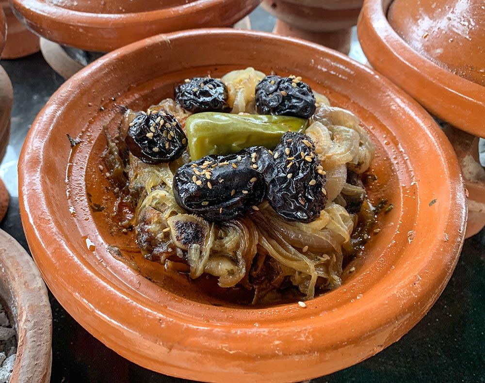 Tajine mit Trockenfrüchten © Siegbert Mattheis