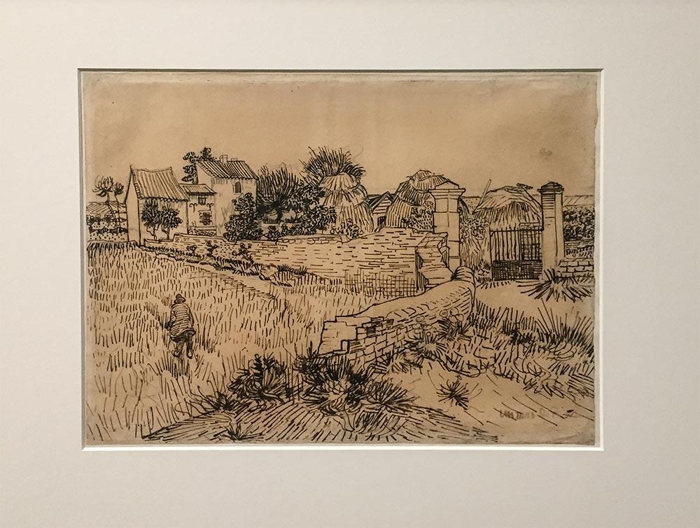 Vincent van Gogh, Bauernhaus in der Provence, 1888