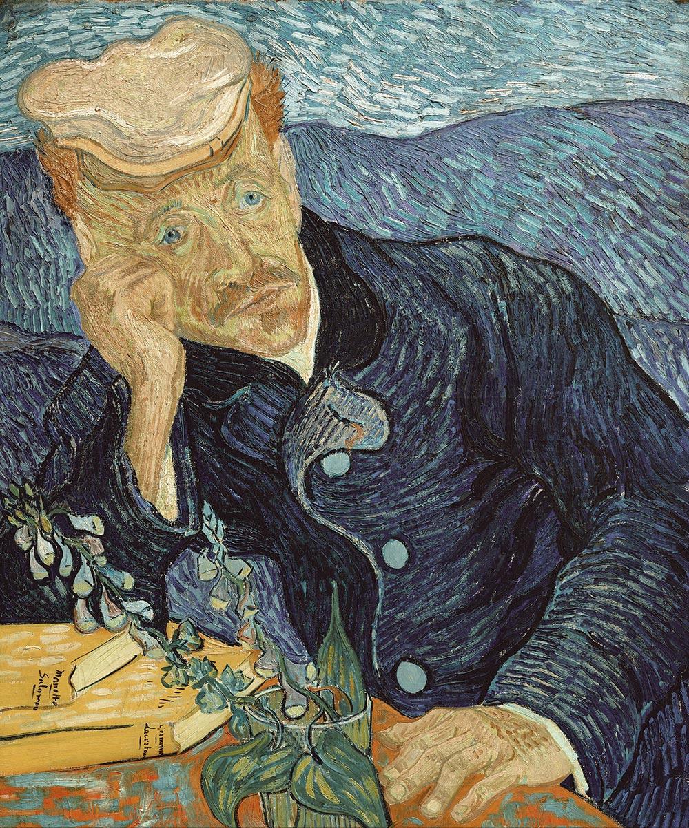 Vincent van Gogh, Bildnis des Dr. Gachet, 1890