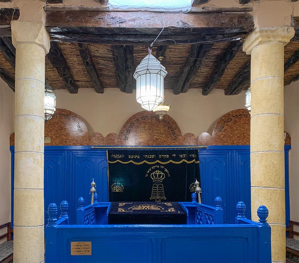 Das Herzstück der Synagoge