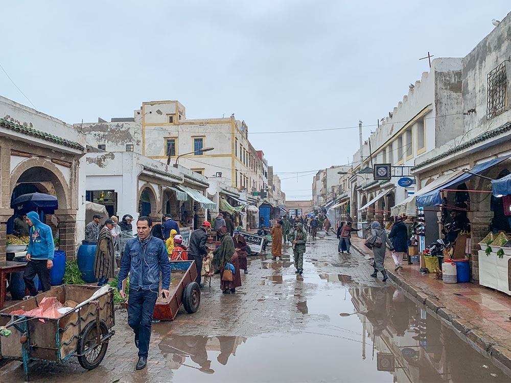 Markt in der Medina