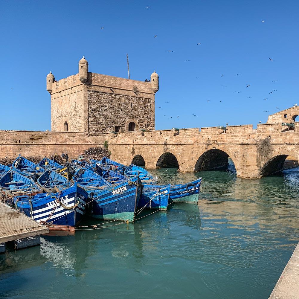 Die alte Hafenfestung