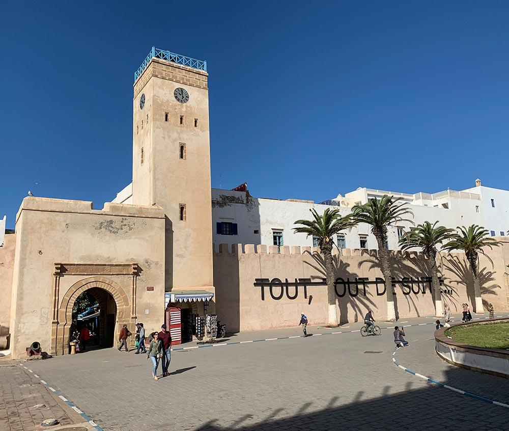 Ein Stadttor von Essaouira