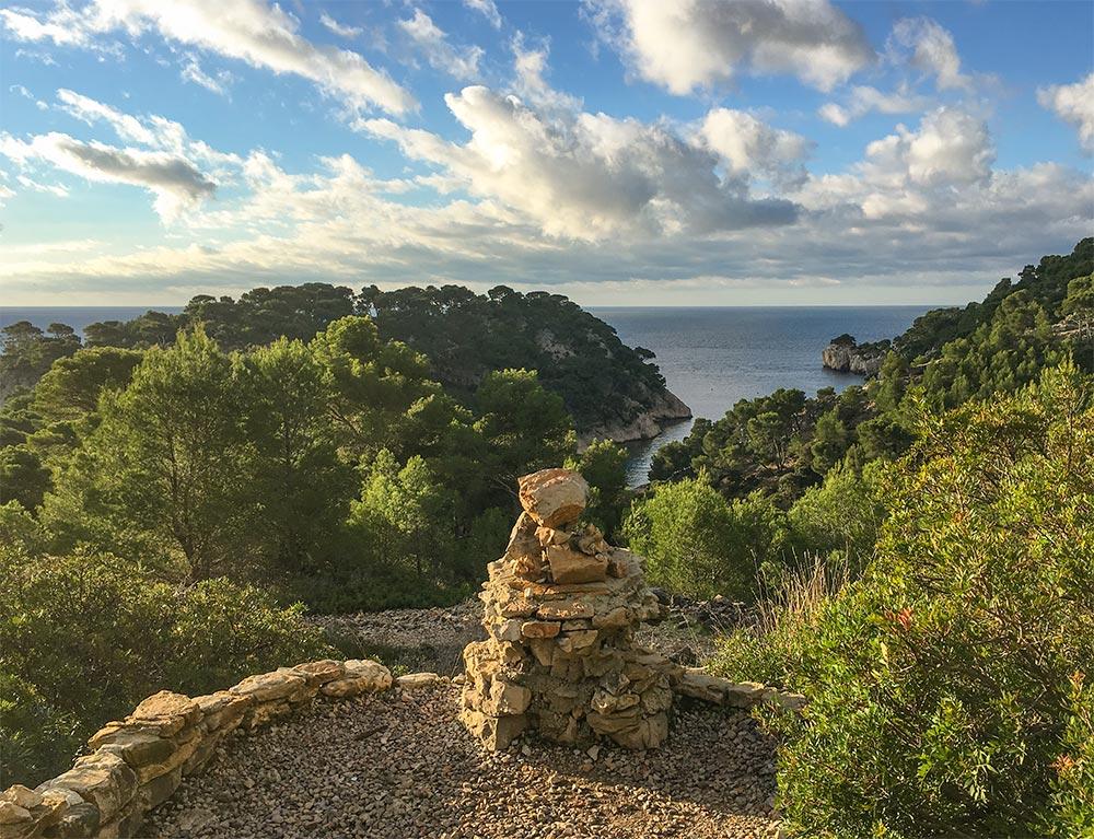 Herrlicher Blick auf Port Miou