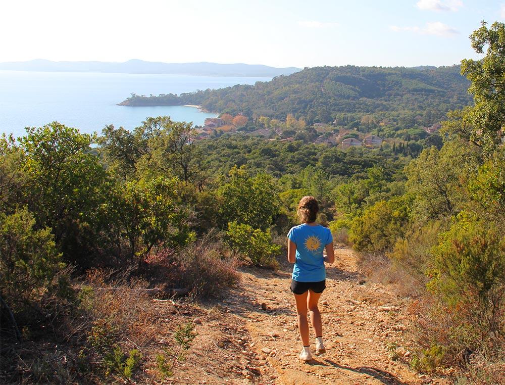 Die Wanderwege eignen sich auch zum Joggen © OT le Lavandou