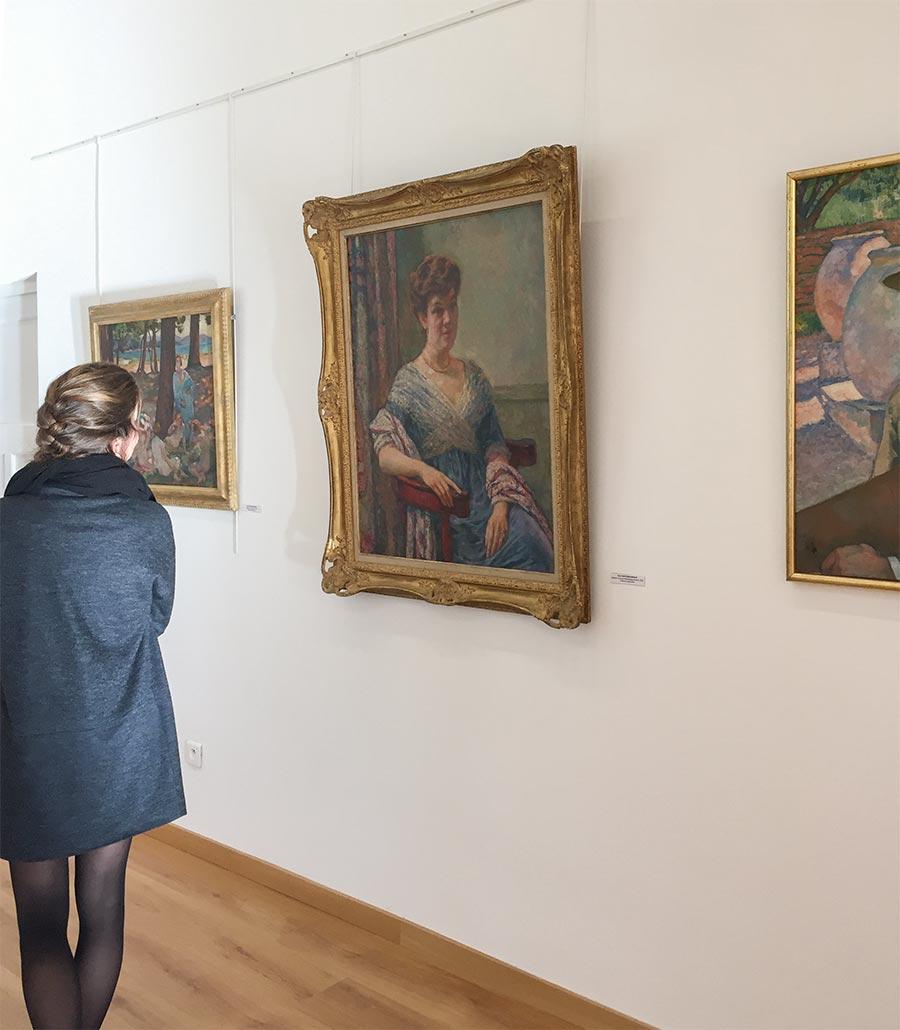 Ausstellungen in der Villa Théo © OT Le Lavandou