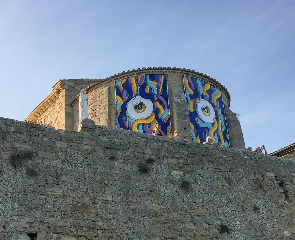 "La Chapelle des Penitents mit ""Augen"" © Siegbert Mattheis"