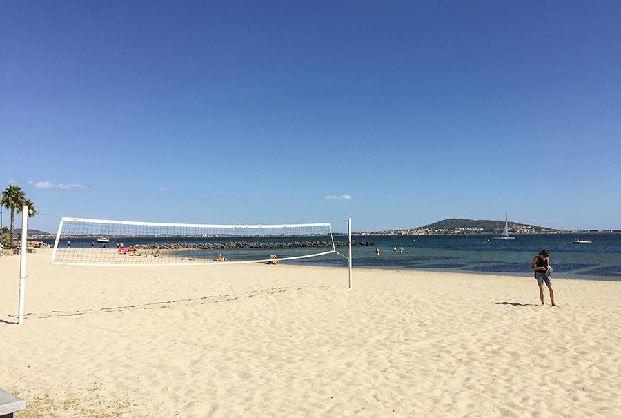Auch am Strand geht es entspannt zu © Siegbert Mattheis