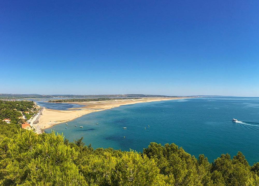 Strand von Leucate