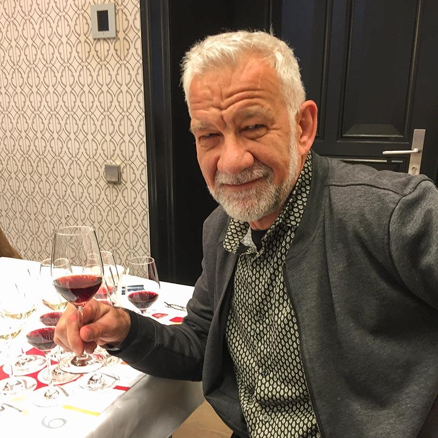 Bei der Verkostung der 11 besten Weine Italiens 2020, Foto: Hajo Becker