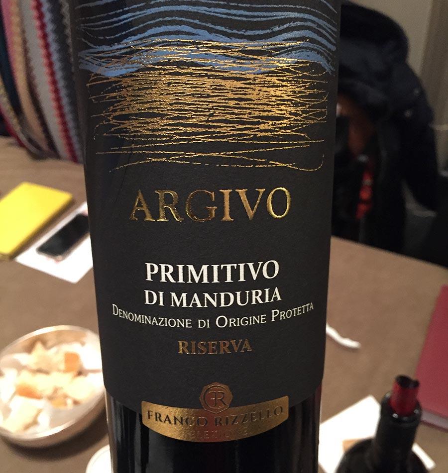 Flasche Primitivo di Manduria