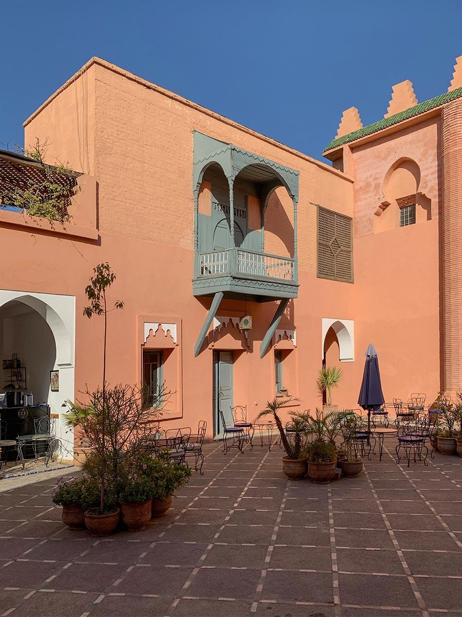 Typisches Rot in Marrakech © Siegbert Mattheis