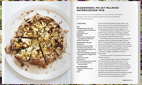 Rezeptseite aus Blumenkohl, Kochen mit Köpfchen