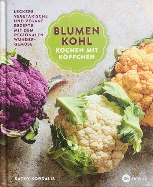Buchcover Blumenkohl, Kochen mit Köpfchen