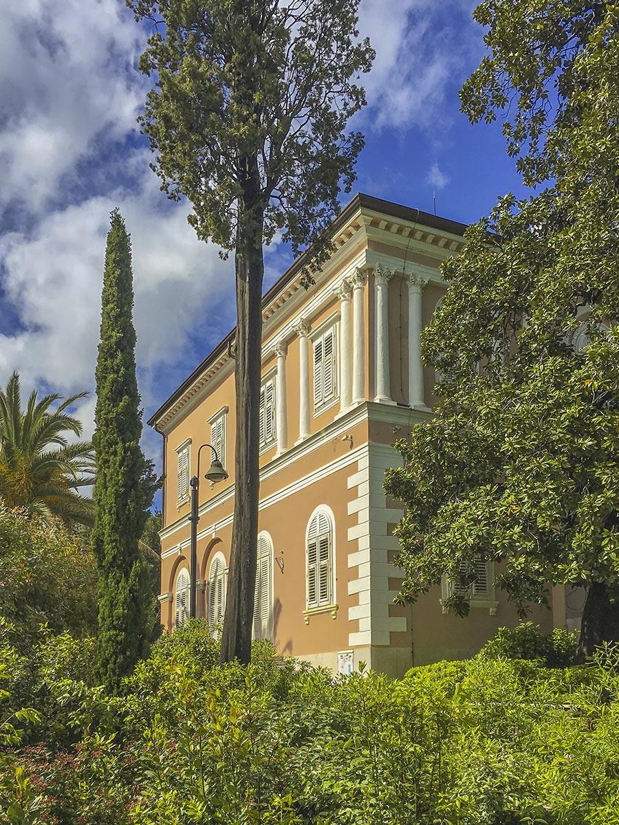 Villa Angiolina, heute ein Museum
