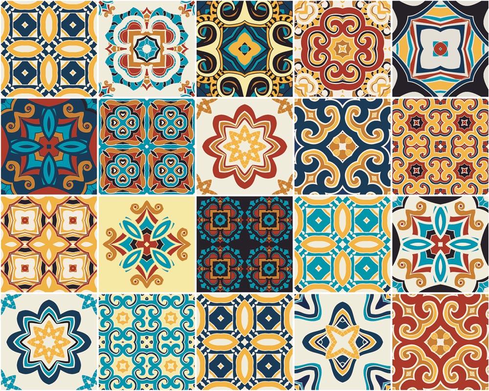 Farbige Azulejos sind Trend im Küchendesign © Darya, Adobe Stock