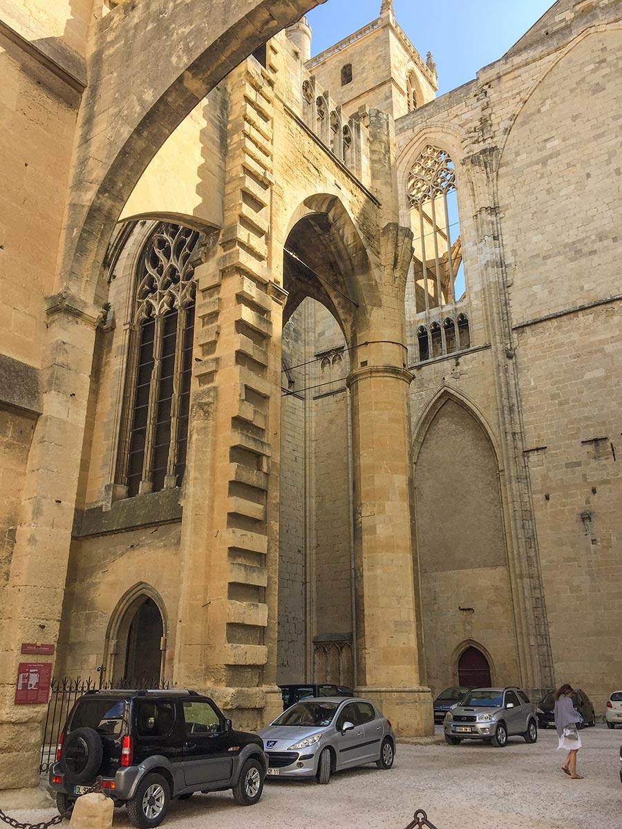 Parkplatz mitten in der Kathedrale © Siegbert Mattheis