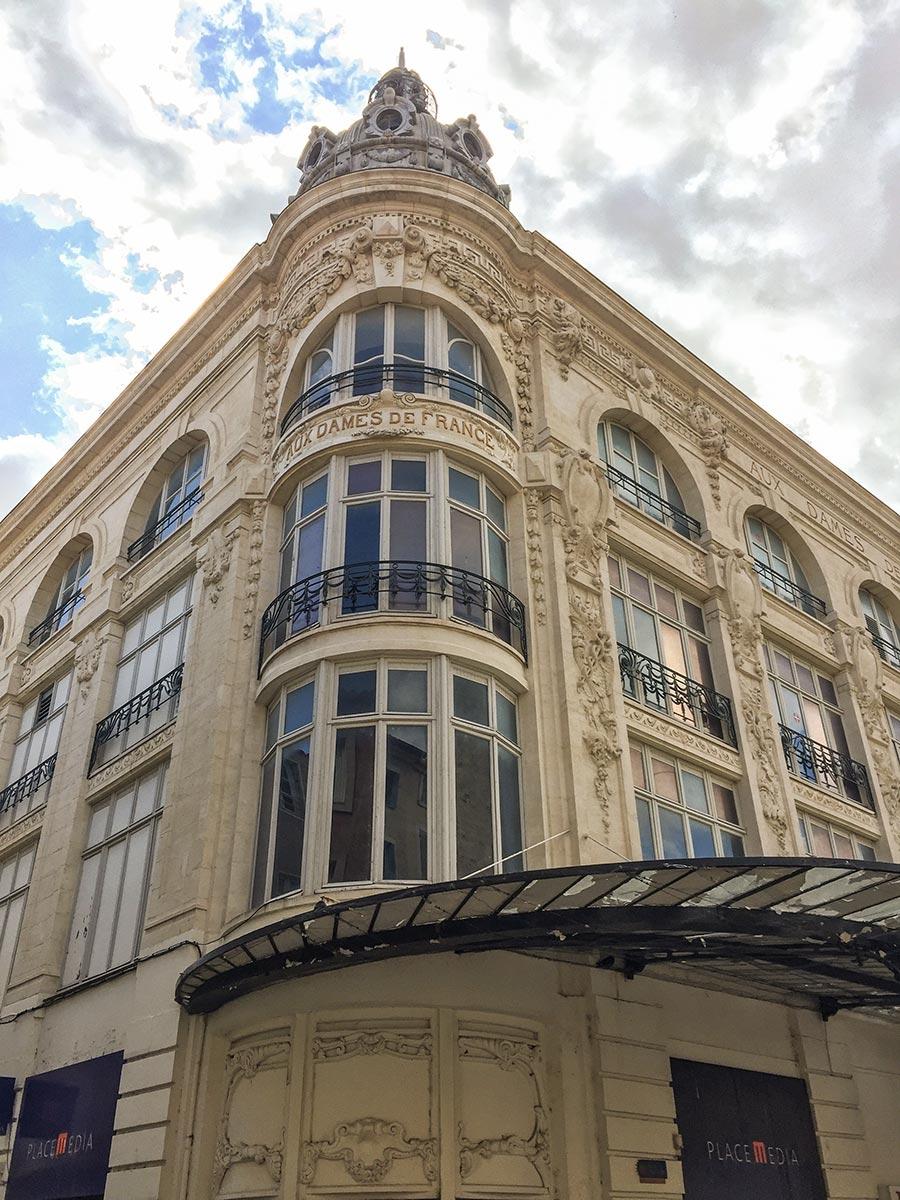 Kaufhaus Aux Dames de France, der Glanz der Belle Époque blättert ein wenig ab © Siegbert Mattheis