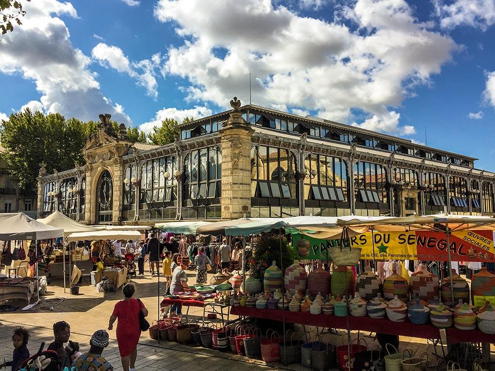 Die Markthalle mit Jugendstil-Elementen © Siegbert Mattheis