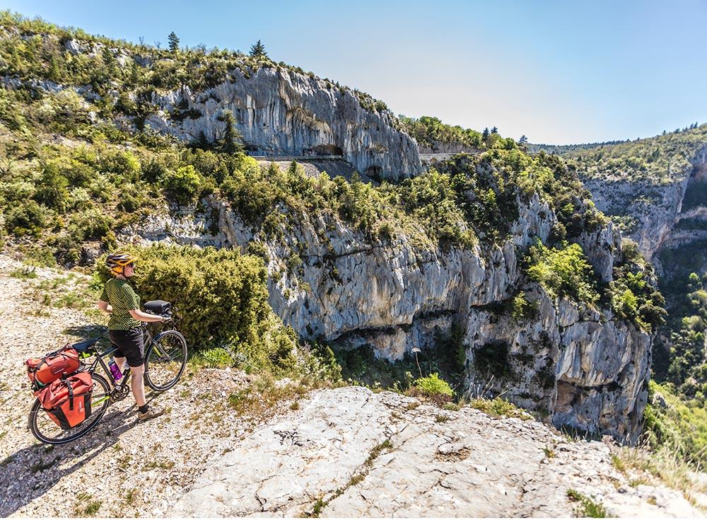 Radfahren Provence: Fahrradrunde um den Mont Ventoux © T. Rathay