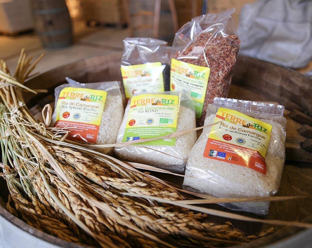 Verschiedene Reissorten aus der Camargue © Siegbert Mattheis