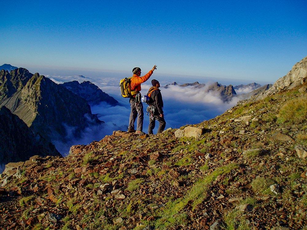 Wandern in Okzitanien im Vignemale Massiv mit Bergführer
