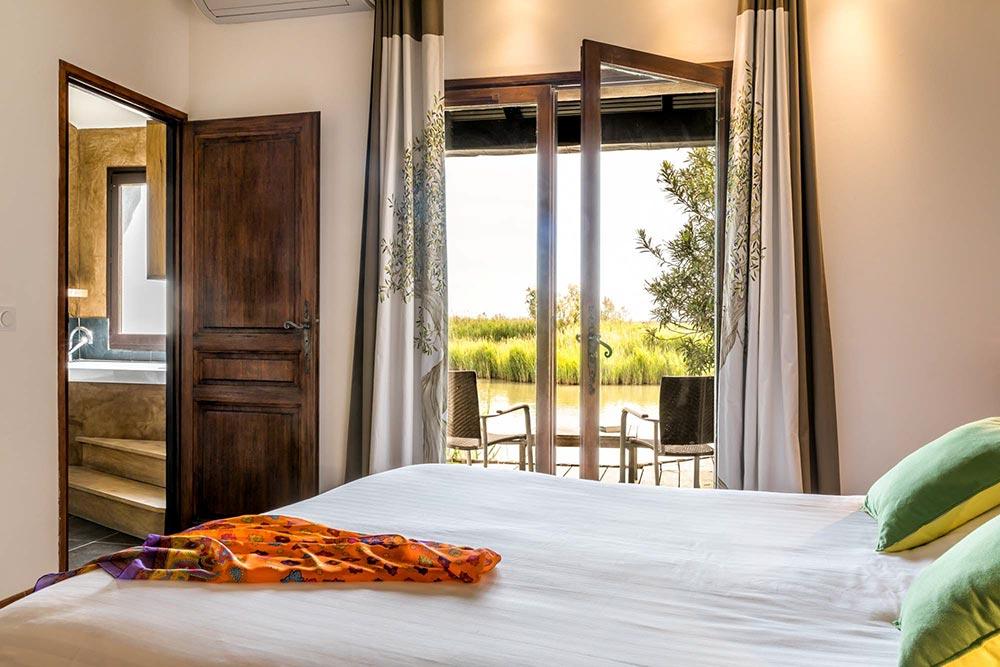 Luxushotel Zimmer Superior mit Blick auf die Camargue