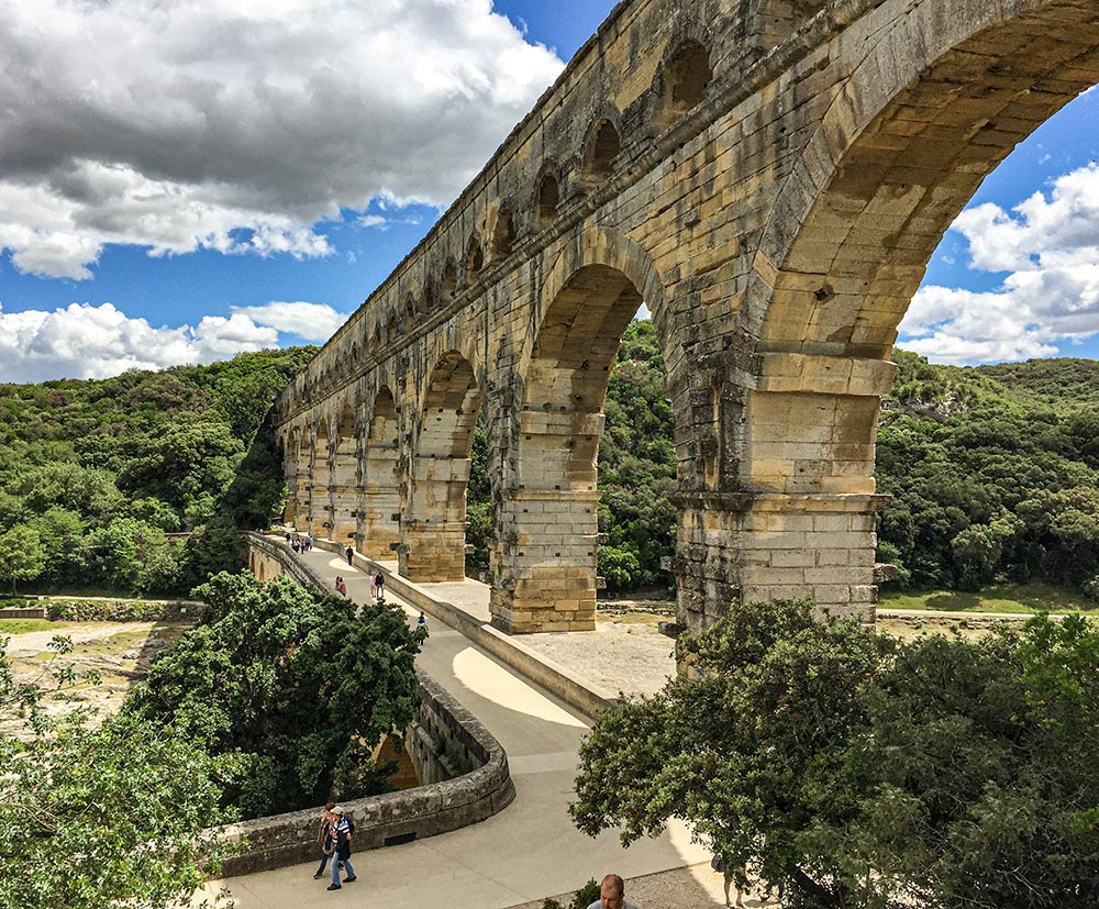 Pont du Gard bei Nîmes