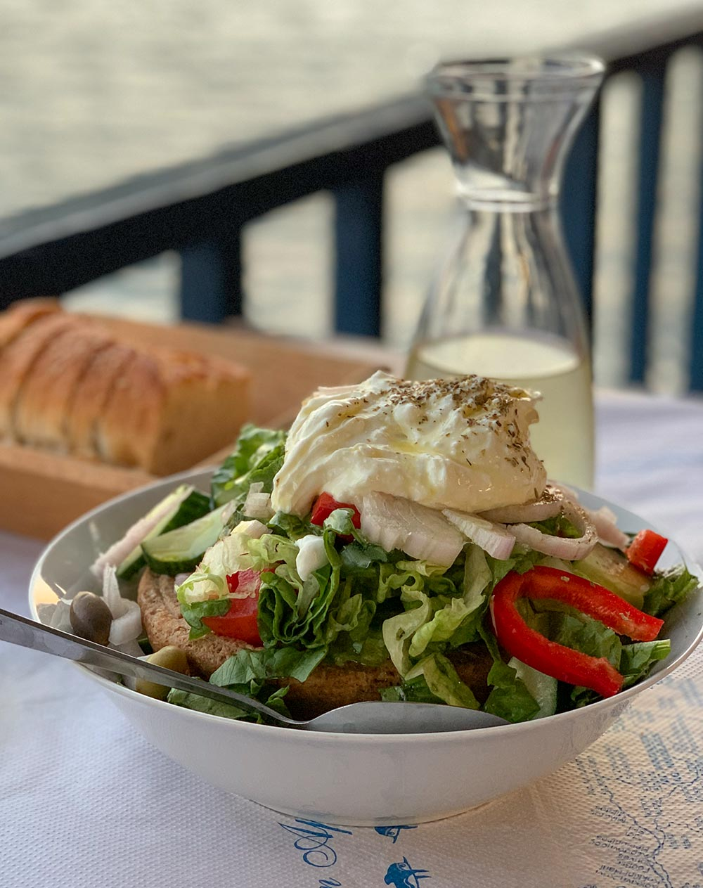 Griechischer Bauernsalat, Choriatiki