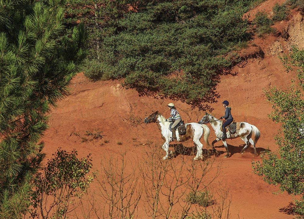 2 Reiter in den Ockerbrüchen