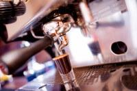 das Bild zeigt eine Espressomaschine