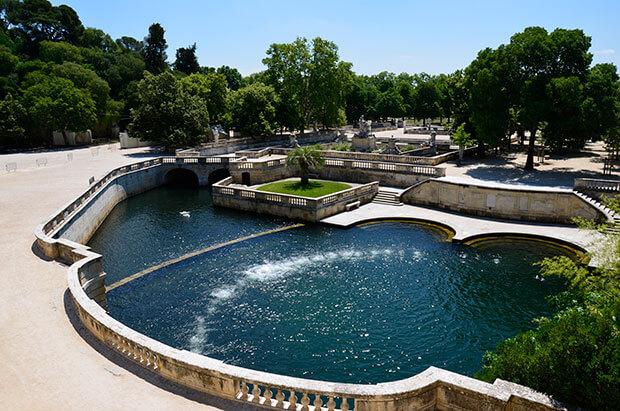 Lustwandeln wie in Versailles: die großzügigen Jardins de la fontaine © Siegbert Mattheis