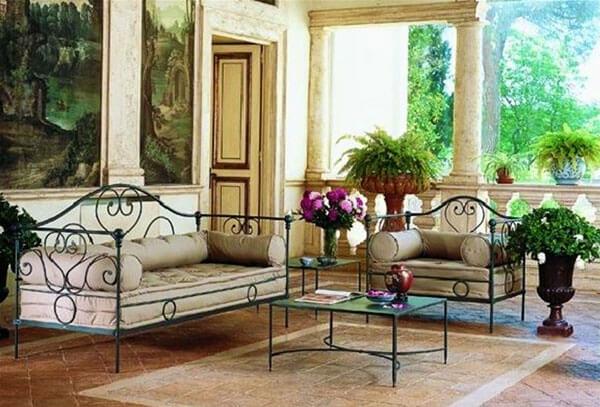 romantico black ambiente mediterran. Black Bedroom Furniture Sets. Home Design Ideas